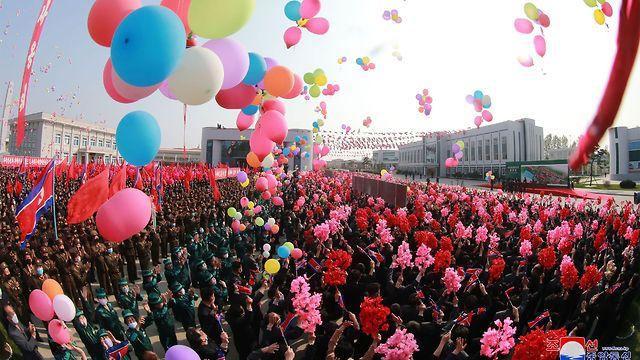הקהל בטקס, צילום: AFP