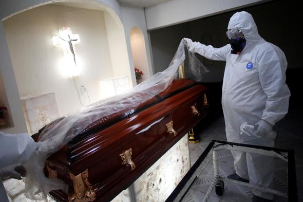 לוויה במקסיקו סיטי