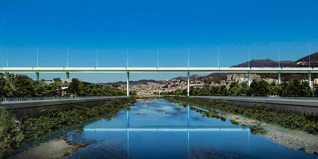 צפו: אחרי שנה של עבודות יש לגנואה גשר חדש - במקום זה שקרס
