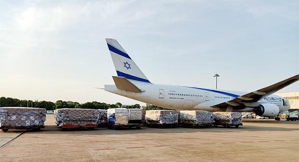 טיסת מטען של אל על בוואהן, צילום: דוברות אל על