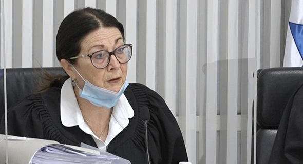 """השופטת אסתר חיות, צילום מסך: לע""""מ"""