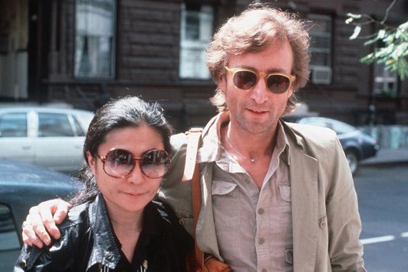 ג'ון לנון ויוקו אונו באוגוסט 1980