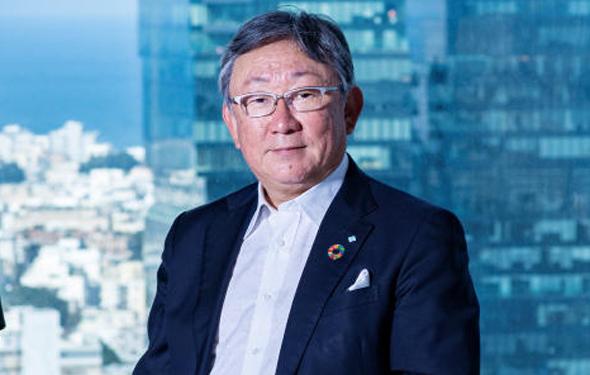 Toshikazu Nambu, Executive Vice President of Sumitomo Corp. Photo: Yuval Chen