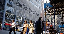 מערכת עיתון הניו יורק טיימס, צילום: בלומברג