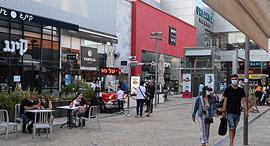מתחם קניות ביג פאשן אשדוד קורונה, צילום: אבי רוקח