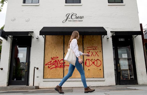 חנות ג'יי קרו סגורה בוושינגטון