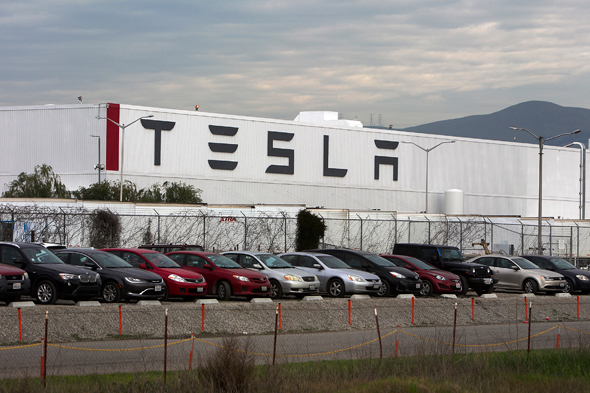 A Tesla factory. Photo: Reuters