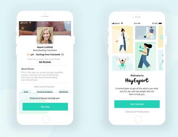 HeyExpert, פלטפורמה לייעוץ אונליין