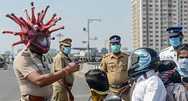 הודו בימי הקורונה, צילום: איי אף פי