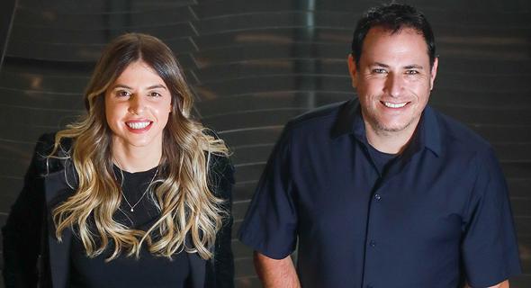 Brilliance Ventures founders Keren Maimon and Ron Sade. Photo: Shlomi Yosef