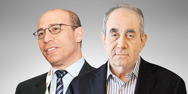 אלפרד אקירוב ואייל לפידות, צילום: עטא עוויסאת, אוראל כהן