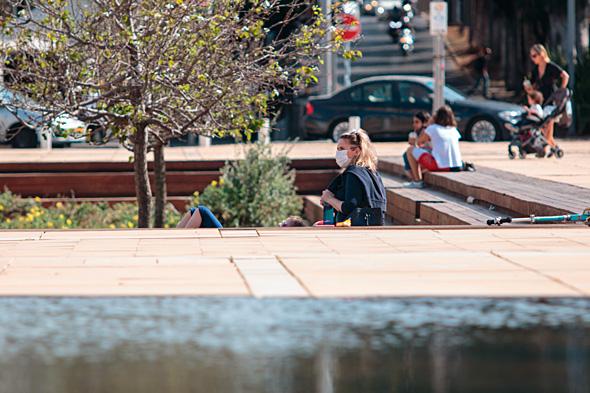 תל אביב בימי קורונה – לפני נתוני Mobi כ-90% מתושבי תל אביב הקפידו על הוראות הבידוד, צילום: שאטרסטוק