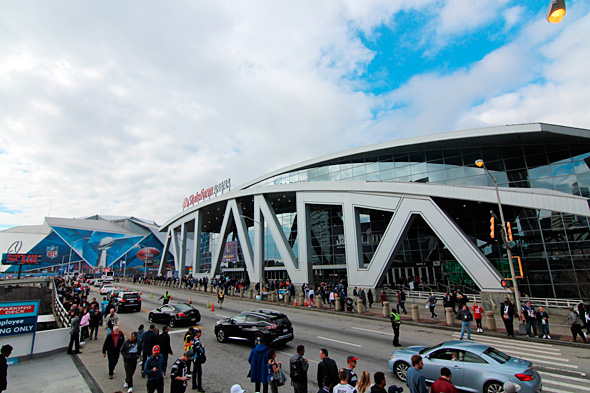 """המערכת של Mobi - ניהול התנועה סביב אירוע הסופרבול 2019 – אירוע הספורט הגדול ביותר בארה""""ב , צילום: שאטרסטוק"""