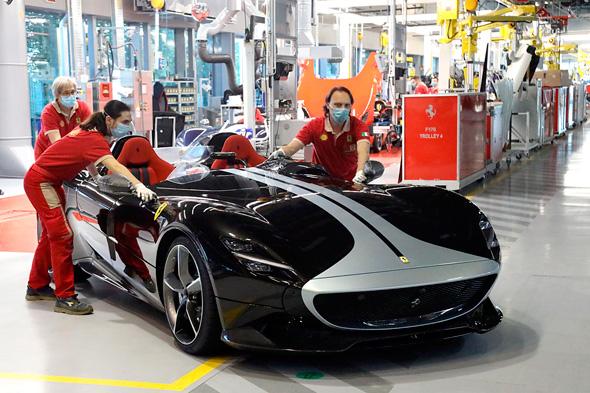 פרארי מונזה 2SP רכבי יוקרה , צילום: יצרן