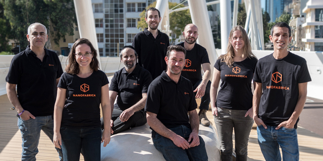 Nanofabrica team. Photo: Idan Gil