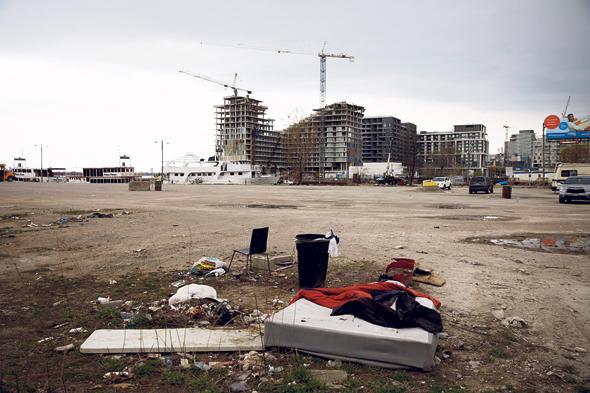 האתר המיועד לעיר החכמה בטורונטו. הזבל של האחד הוא האוצר של האחר, צילום: בלומברג