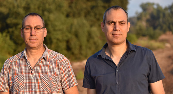 Ohad Zohar (right) and Tal Zohar. Photo: Omnisol