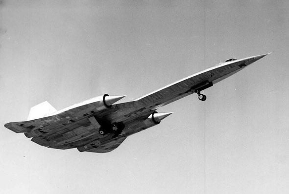 ה-A12 בטיסת הבכורה שלו, צילום: Lockheed Martin
