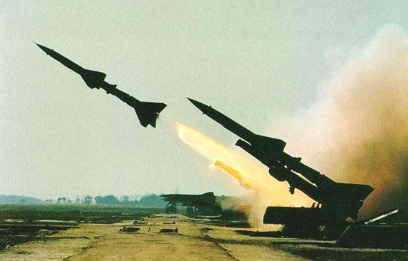 """ירי טיל נ""""מ SA2, צילום: CDS"""