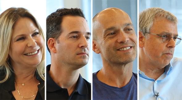 Sivan Shamri Dahan (left), Tal Slobodkin, Gigi Levi-Weiss, Aaron Mankovski. Photo: Orel Cohen & Tal Azoulay