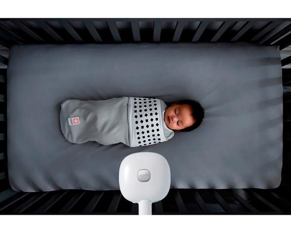 מכשיר למעקב וניתוח שינת תינוקות של נאניט , צילום: Nanit