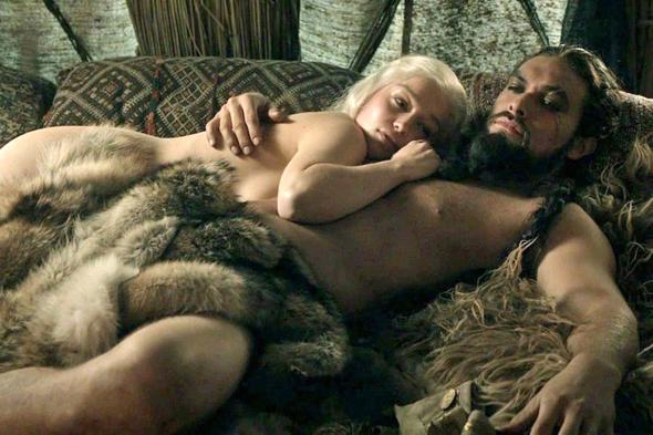 """צילום מתוך """"משחקי הכס"""". סצנות אינטימיות יצולמו בנפרד וישולבו בחדר העריכה., צילום: HBO"""