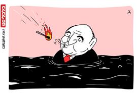 קריקטורה 13.5.20, איור: צח כהן