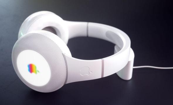 עיצוב קונספט של האוזניות החדשות של אפל