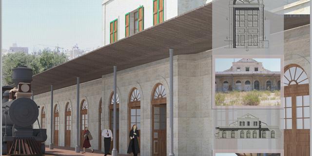 אושרו 3 תוכניות ענק במתחם הרכבת בירושלים