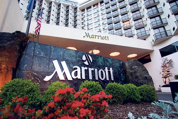 """מלון של מריוט באורגון ארה""""ב"""