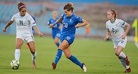 כדורגל נשים. נבחרת ישראל נגד נבחרת איטליה, צילום: אבי רוקח