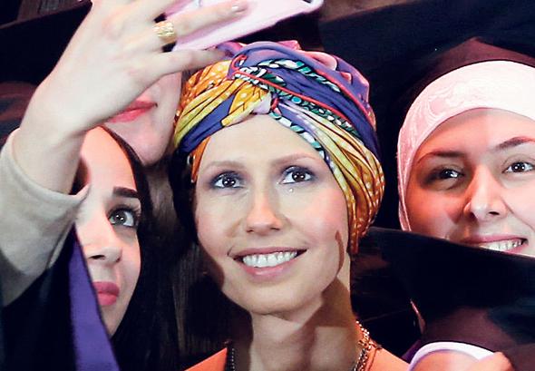 Asma al-Assad. Photo: AFP