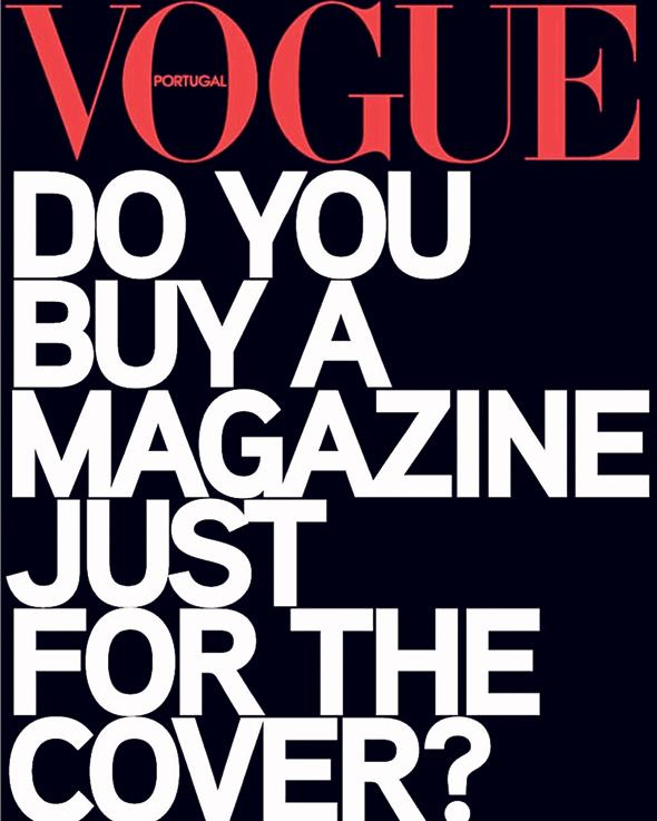 שער ווג פורטוגל, צילום: vouge