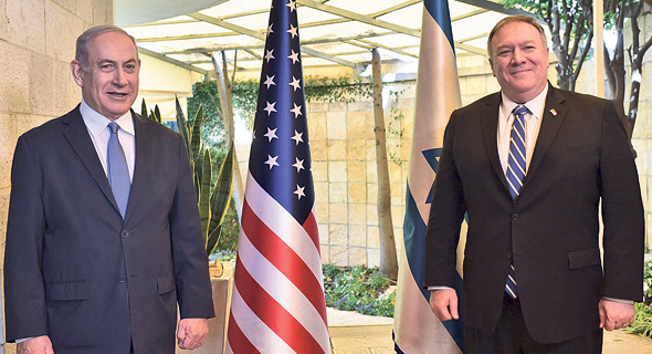 U.S. Seceratary of State Mike Pompeo meets with Israeli Prime Minister Benjamin Netanyahu in May. Photo: Kobi Gideon/GPO