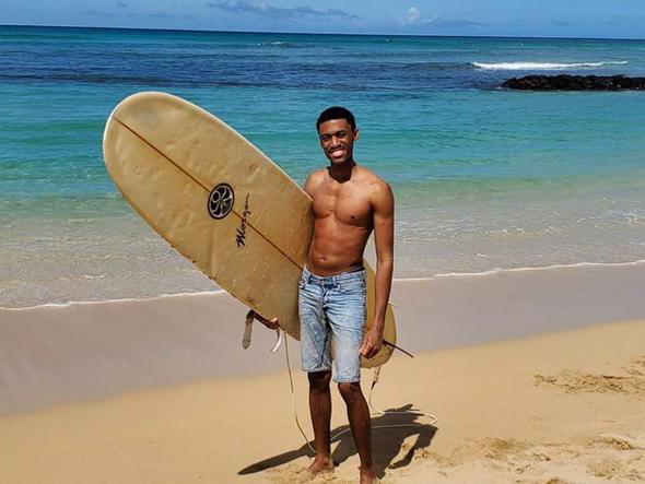 טאריק פיטרס נעצר בהוואי , צילום: Instagram / Tarique Peters