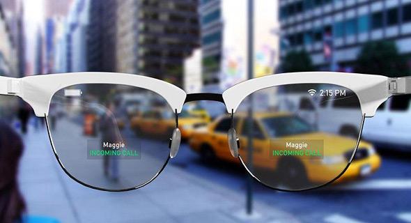 קונספט: משקפי המציאות המדומה של אפל