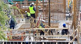 פועלי בניין, צילום: נועה קסלר