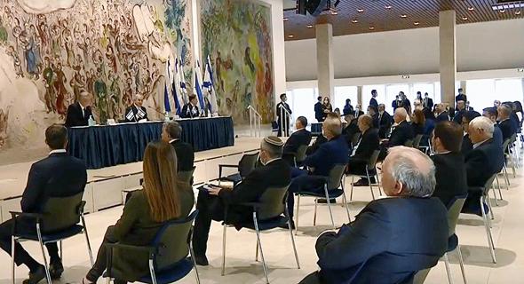 """ישיבת הממשלה הראשונה, צילום: לע""""מ"""