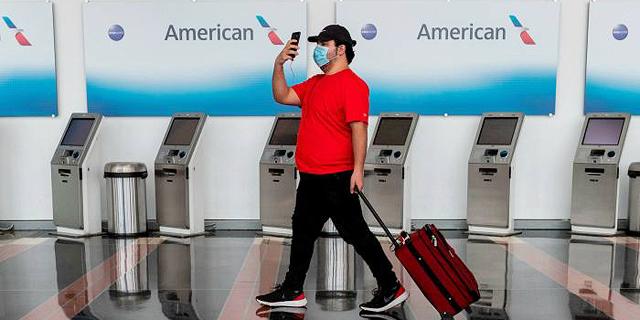 """חברות תעופה בארה""""ב ינדו מטיסות עתידיות נוסעים בלי מסכות"""
