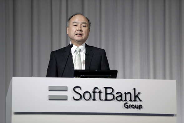 SoftBank CEO Masayoshi Son. Photo: Bloomberg