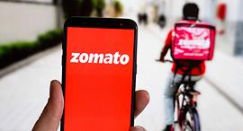 Zomato שירות משלוחי מזון הודי, צילום: dfordelhi.in