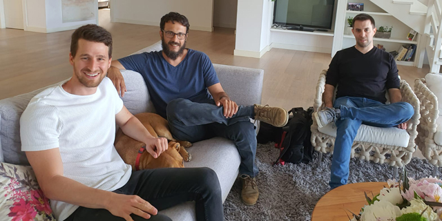 Pico co-founders (from left) Aviv Paz, Roi Mozer and Asaf Nevo. Photo: Courtesy