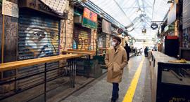 שוק מחנה יהודה עסקים סגורים, צילום: עמית שאבי