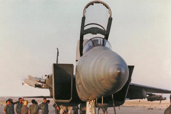 המטוס לאחר נחיתתו, צילום: אתר חיל האוויר