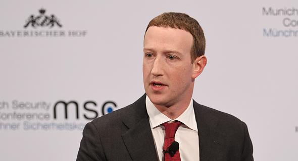 """מארק צוקרברג מנכ""""ל ומייסד פייסבוק"""