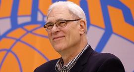 פיל ג'קסון נשיא לענייני כדורסל ניו יורק ניקס , צילום: איי פי