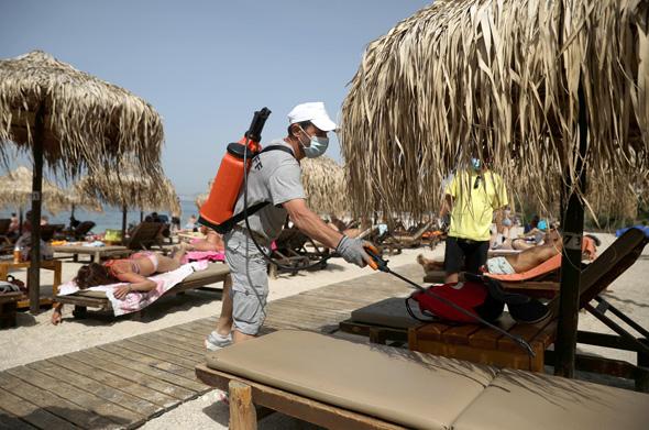 חיטוי חוף ביוון