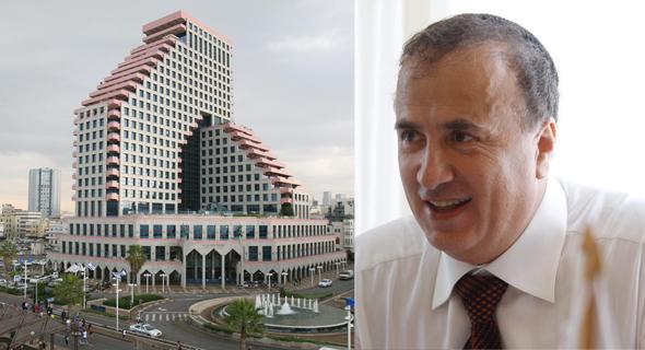 גבריאל מירילשוילי. מתגורר בדירה אחרת במגדל האופרה