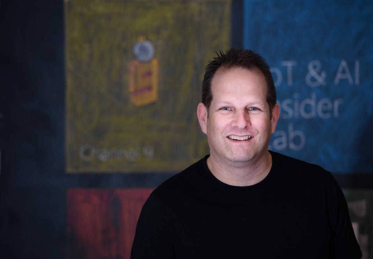 Tzahi Weisfeld, VP and general manager of Intel Ignite. Photo: Aviram Waldman