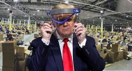 """נשיא ארה""""ב בביקור במפעל פורד, צילום: רויטרס"""